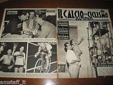IL CALCIO E CICLISMO ILLUSTRATO 1962/35=MASPES=RIVERA=GUIDO COSTA=MONDIALI=