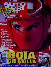 Autosprint 37 1998 Inserto del Superturismo. Guida F1 Monza. Peterson SC.57