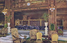 Postcard IL Chicago Hotel LaSalle Office & Clerk's Desk Nr Mint ca 1910-20s