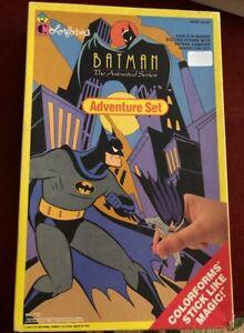 Batman Animated Series Adventure Set Colorforms #752 NICE 1993