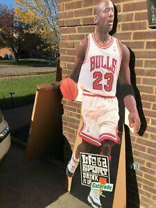 Michael Jordan Life Size Cardboard Stand-Up Gatorade
