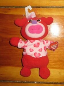"Sing A Ma Jig Plush 9"" Red Valentines Day Heart Let Me Call You Sweetheart"
