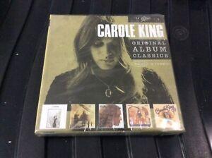 CAROL KING 5 CD ORIGINAL ALBUM SERIES NEW AND SEALED.K1