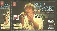 RARE / TICKET DE CONCERT - ROD STEWART PARIS BERCY 29 JUIN 1995 / COMME NEUF
