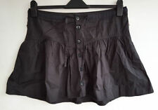 H&M Patternless Short/Mini Casual Skirts for Women