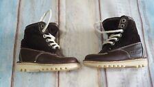 Kickers Kick Hi Fold Brown Corduroy Winterised Boots Size UK 8 Euro - 25.