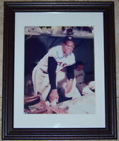 CLEARANCE SALE Willie Mays Signed Autographed Framed 8x10 Baseball Photo SGC COA