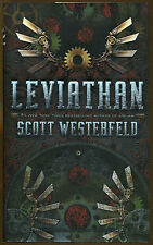 Leviathan by Scott Westerfeld-1st Editon/DJ-2009-Leviathan Trilogy Book One