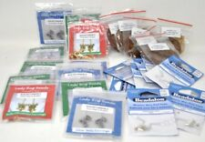 Jewelry Making Lot Kits Earrings Beads Wires Cord Memory Wire End Caps
