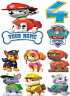 PAW PATROL MARSHALL & CHARACTERS IMAGES PERSONALISED ICING EDIBLE CAKE TOPPER