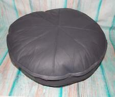 New Fair Trade Hand Made Soft Leather Boho Pouffe Footstool From Istanbul Turkey