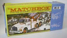 Repro Box Matchbox King Size K- 2 Scammel Heavy Wreck Truck