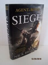 Agent of Rome: The Siege by Nick Brown