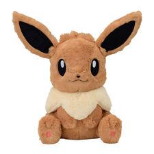 Pokemon Center Original Giant Fluffy Plush Eevee doll FUWA-FUWA Life size toy