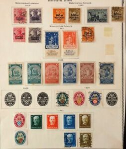 Lot of Germany Semi-postal Stamps MH/Used