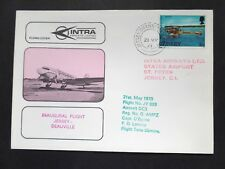 21/05/73 Intra Airways Jersey to Deauville Inaugural Flight by DC3