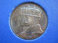 1935 Jubileo De Plata Medalla, Plata De 32 Mm, P Metcalfe en RM Caja de expedición.