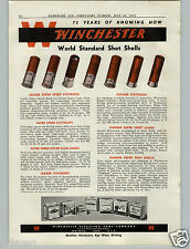 1941 PAPER AD 4 PG Winchester Ammo Ammunition Box Boxes Shotguns Shells Rifles