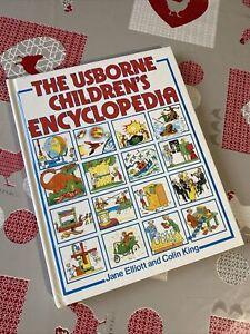 Usborne Children's Encyclopaedia (Encyclopedias), Jane Elliott, Colin King, Used