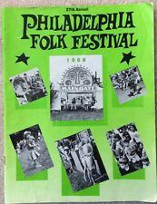 1988 Philadelphia Folk Festival Program