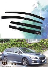 For Subaru Levorg 14-18 Deflector Window Visors Guard Vent Weather Shield