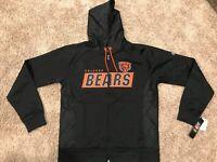 bd18ee04 NWT NFL Seattle Seahawks Majestic Men's Elite Full Zip Hoodie Black ...