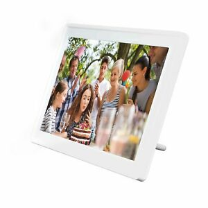 "Digitaler Bilderrahmen WLAN 11.6"" Zoll Full HD Touchscreen Denver PFF-1160HWHITE"