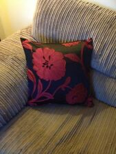 "2 18"" x 18"" Trendy Red And Black cushion covers.."