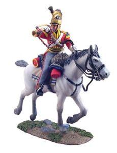 William Britain Napoleonic British 1st Royal Dragoons Bugler Charging 36057