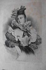Originaldrucke (1800-1899) aus Frankreich mit Porträt & Persönlichkeiten und Lithographie