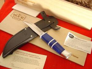 "Buck USA Custom 8"" 212 Fixed RANGER Lucite LTD Sheath Knife MIB"