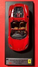 Ferrari MR Collection 10/12 Miniature toy Car Red New Made in Italy