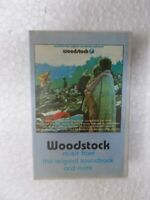 WOODSTOCK joan baez canned heat the who RARE CASSETTE TAPE INDIA CLAMSHELL 1993