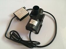 5-24V 3-Phase Micro Brushless DC Water Pump Solar Submersible Pump 5M 3600LPH