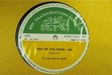 BBC 244 Transcription Disc TOP Of The POPS Led Zeppelin Deep Purple Jethro Tull