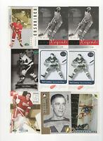 10 count lot mixed Ted Lindsay CARDS! Detroit Red Wings Hall Of Fame Left Winger