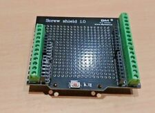 Proto Screw Shield Terminal Expansion Board for Arduino with Reset Button + LED