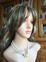 costume jewellery necklace Golden Bow