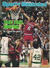 DR. J JULIUS ERVING SIXERS CELTICS LARRY BIRD SI 82 DALEY THOMPSON MIKE SCHMIDT
