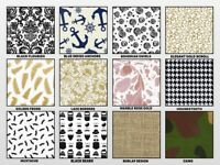 "CLASSIC Print Gift Tissue Paper Sheets 20"" x 30"" Choose Print & Pack Amount"