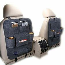 ZoneYan Back Seat Car Organizer, Kick Mats Back Seat Protector, Car Seat Storage