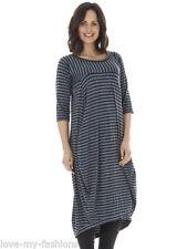 Summer Stripes Long Sleeve Dresses for Women