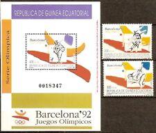 Equatorial Guinea Edifil #149-151 ** MNH Great Britain British Sport Olympics