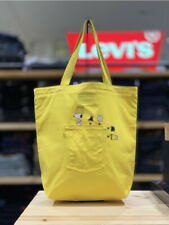 Levi's Snoopy Collaboration Eco Canvas Yellow Bag Shoulder Bag