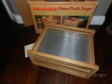 Sun pantry oven fruit dryer Food Dehydrator 4 Tray Fruit Jerky Dryer natural