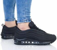 Nike Air Max 97 OG Triple Black Uk Size 5.5 Eur 38.5 AV4149-001 Boys Girls Genui