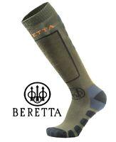 Beretta Merino Long Socks Green Hunting Sock M - XL Shooting Warmth/Breathable