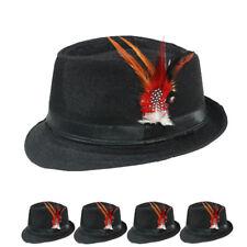 Fedora Hat Wedding Dress WOMEN MEN Formal BLACK CAP FASHION WINTER VALENTINES