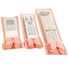 New TV Air Conditioning Remote Control Case Cover Lace Cover Greaseproof 20*8cm
