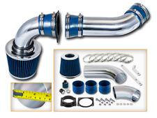 BLUE COLD AIR INDUCTION INTAKE KIT+ DRY FILTER FOR Ford 01-03 Explorer 4.0L V6